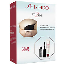 Buy Shiseido Eye2Eye Benefiance Wrinkle-Resist 24 Skincare Gift Set Online at johnlewis.com