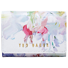 Buy Ted Baker Viktore Hanging Garden Mini Purse, White Online at johnlewis.com