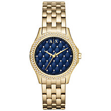 Buy Armani Exchange Women's Lady Hampton Bracelet Strap Watch Online at johnlewis.com