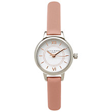 Buy Olivia Burton Women's Mini Wonderland Leather Strap Watch Online at johnlewis.com