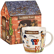 Buy At Your Leisure 'The Horse Rider' Mug Online at johnlewis.com