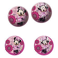 Buy Disney Minnie Mouse Ball Online at johnlewis.com
