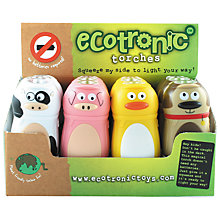 Buy House of Marbles Ecotronic Farm Animal Torch, Assorted Online at johnlewis.com
