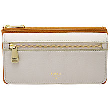 Buy Fossil Preston Leather Flapover Purse Online at johnlewis.com