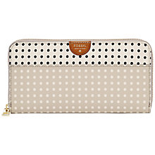 Buy Fossil Sydney Zip Purse, Multi Online at johnlewis.com