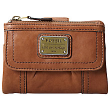 Buy Fossil Emory Leather Purse Online at johnlewis.com