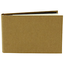 Buy John Lewis Kraft Small Slip-In Album Online at johnlewis.com