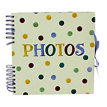 Buy Emma Bridgewater Polka Dot Self Adhesive Photo Album Online at johnlewis.com