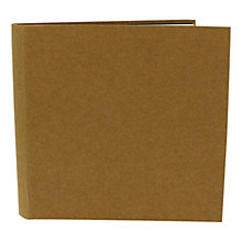 Buy John Lewis Kraft Self-Adhesive Square Album Online at johnlewis.com