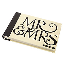 Buy Emma Bridgewater Mr & Mrs Small Slip-In Photo Album Online at johnlewis.com