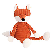 Buy Jellycat Cordy Roy Fox Baby Soft Toy, Red Online at johnlewis.com