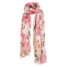 Buy Fat Face Grandifloral Scarf, Multi Online at johnlewis.com