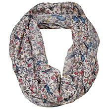 Buy Fat Face Betty Bird Print Snood, Multi Online at johnlewis.com