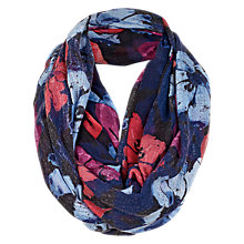 Buy Fat Face Grandifloral Snood, Navy/Multi Online at johnlewis.com