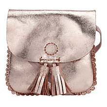 Buy Jigsaw Alice Mini Tassel Girls' Cross Body Bag Online at johnlewis.com