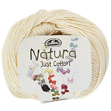 Buy DMC Creative Natura Just Cotton DK Yarn, 50g Online at johnlewis.com