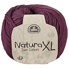 Buy DMC Creative Natura XL Just Cotton Super Chunky Yarn, 100g Online at johnlewis.com