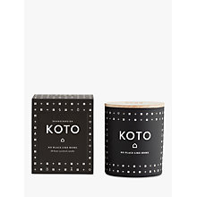 Buy SKANDINAVISK Koto Scented Candle with Lid Online at johnlewis.com