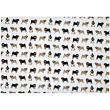 Buy Fenella Smith Pug Print Tea Towel Online at johnlewis.com