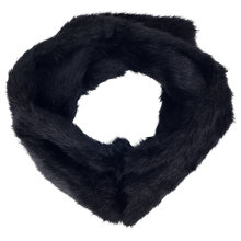 Buy French Connection Lily Faux Fur Headband, Black Online at johnlewis.com