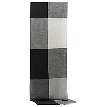 Buy Reiss Ginny Check Scarf, Black/Grey Online at johnlewis.com