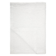 Buy John Lewis Stitch Stripe Bedspread, White/Multi Online at johnlewis.com