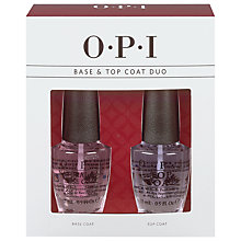 Buy OPI Top & Base Coat Duo Pack, 2 x 15ml Online at johnlewis.com