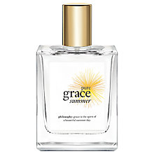 Buy Philosophy Pure Summer Grace Eau de Toilette, 60ml Online at johnlewis.com