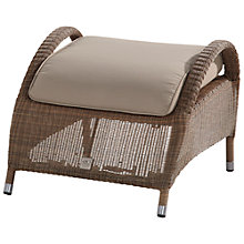 Buy 4 Seasons Outdoor Sussex Footstool with Cushions Online at johnlewis.com