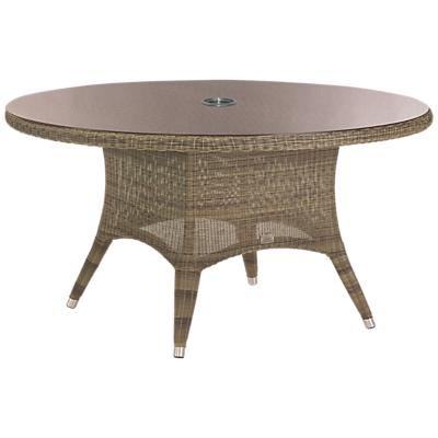 4 Seasons Outdoor Loom Weave Dining Table, Dia.150cm