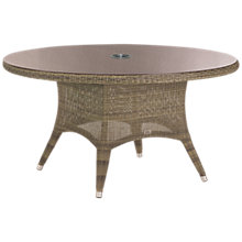 Buy 4 Seasons Outdoor Sussex Dining Table, Dia.150cm Online at johnlewis.com