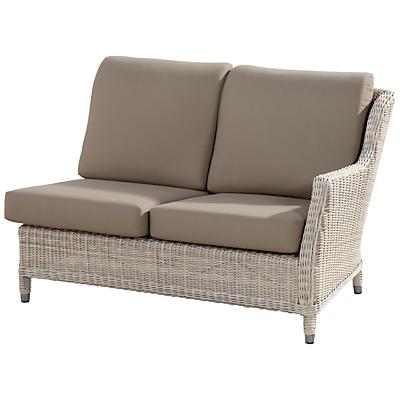 4 Seasons Outdoor Brighton Modular 2-Seater Sofa, Left