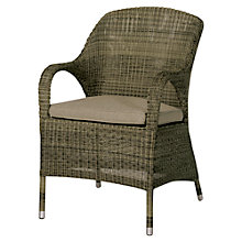 Buy 4 Seasons Outdoor Sussex Garden Dining Chair, Brown Online at johnlewis.com
