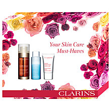 Buy Clarins Double Serum 30ml Skincare Gift Set Online at johnlewis.com