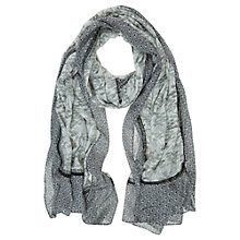 Buy Mint Velvet Gia Print Scarf, Khaki/Multi Online at johnlewis.com
