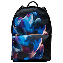 Buy Ted Baker Casiddy Cosmic Bloom Backpack, Black Online at johnlewis.com