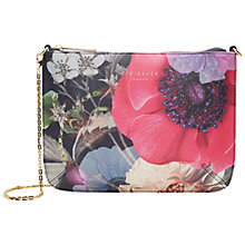 Buy Ted Baker Namia Across Body Bag, Navy/Multi Online at johnlewis.com