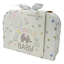 Buy Buttonbag Baby Sampler Embroidery Kit Online at johnlewis.com