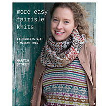 Buy Rowan More Easy Fair Isle Knits Knitting Pattern Book by Martin Storey Online at johnlewis.com