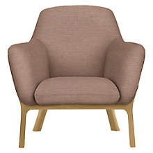 Buy John Lewis Lamont Armchair, Hamble Hushed Pink Online at johnlewis.com