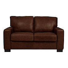 Buy John Lewis Burton Small Leather Sofa Online at johnlewis.com