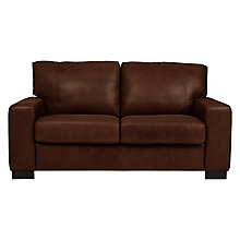 Buy John Lewis Burton Medium Leather Sofa Bed Online at johnlewis.com