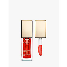 Buy Clarins Instant Light Lip Comfort Oil, Cherry Online at johnlewis.com
