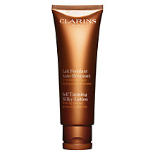 Buy Clarins Self Tanning Milky Lotion, 125ml Online at johnlewis.com