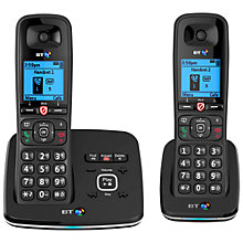 Buy BT 6610 Digital Cordless Phone With Nuisance Call Blocking & Answering Machine, Twin DECT Online at johnlewis.com