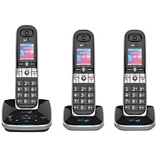 Buy BT 8610 Digital Cordless Phone With Advanced Call Blocking & Answering Machine, Trio DECT Online at johnlewis.com
