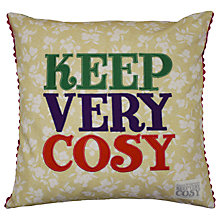 Buy Emma Bridgewater Keep Very Cosy Cushion Online at johnlewis.com