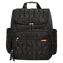 Buy Skip Hop Pack And Go Backpack Changing Bag, Black Online at johnlewis.com