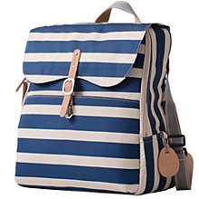 Buy PacaPod Hastings Stripe Changing Bag, Navy Online at johnlewis.com