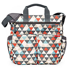Buy Skip Hop Triangles Duo Signature Changing Bag, Multi Online at johnlewis.com